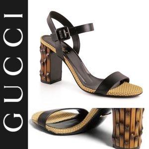 Gucci Dalihah Bamboo Heels (100% Authentic)